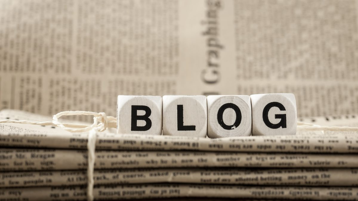 Blog page main image