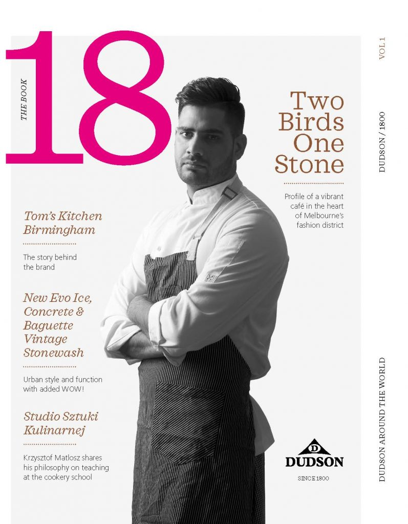 Dudson 18 Magazine cover for Portfolio